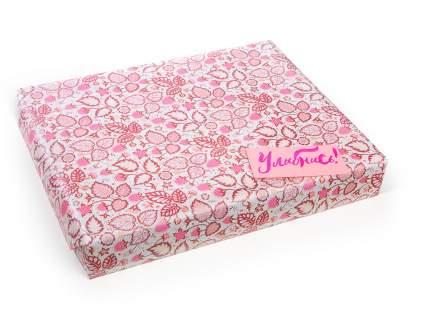 Упаковочная бумага с паттерном «Малина» 62×48 см