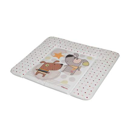 Матрас для пеленания Baby Care Паппи Дог, 820х730х210, коричневый
