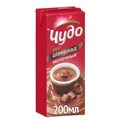Коктейль Чудо шоколад молочный 3% 216 г