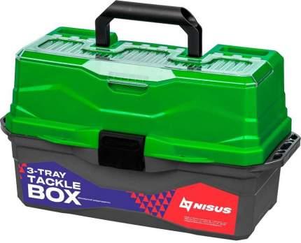 """Ящик для снастей NISUS """"Tackle Box"""", трехполочный"""