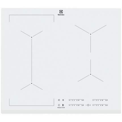 Встраиваемая варочная панель индукционная Electrolux IPE6453WF White