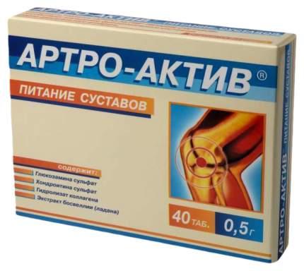 Артро-Актив в таблетках 500мг N40