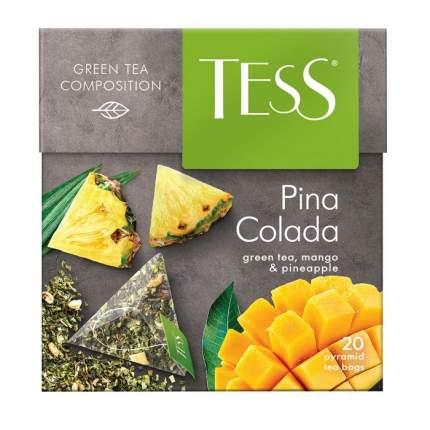 Чай зеленый Tess pina colada 20 пакетиков