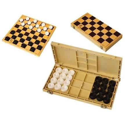 Шашки с шахматной доской 30x30см