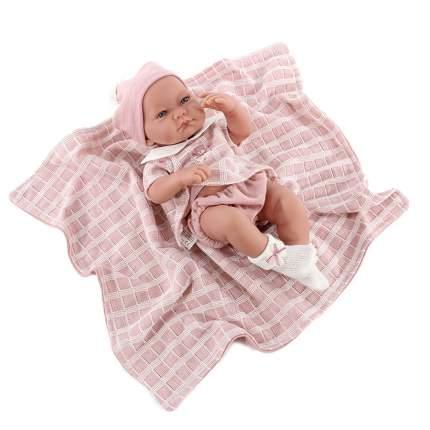 """Кукла-младенец """"Дафна"""", в розовом (42 см)"""