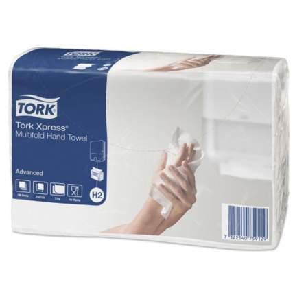 Полотенца H2 Tork Advanced сложения Interfold 190 листов 21*23.4 см 2 слоя белые