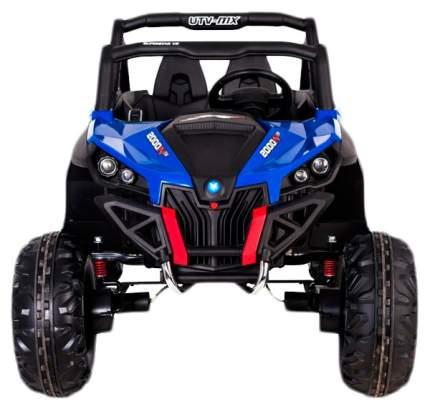 """Электромобиль """"БАГГИ"""", полный привод 4WD, кожаное сидение, цвет синий Sima-Land"""