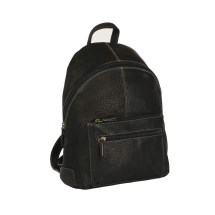 Рюкзак кожаный Bufalo BPJ-17 черный