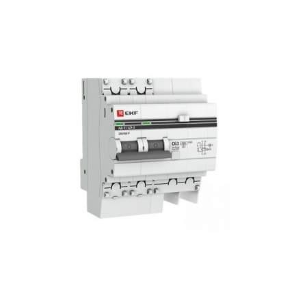 Дифавтоматы EKF DA2-63-30-pro