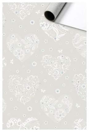 """Бумага упаковочная """"Seline. Серый"""", 0,7x1,5 м"""