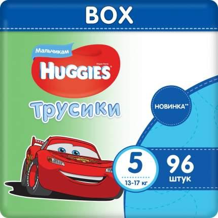Подгузники-трусики Huggies для мальчика размер 5 (13-17 кг) 96 шт