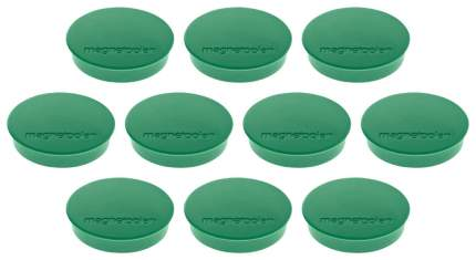 Магниты Magnetoplan 21211 Зеленые