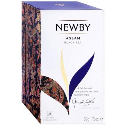 Чай черный Newby Assam 25 пак