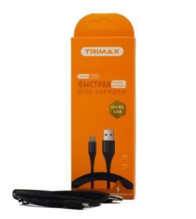 Кабель Trimax Micro-USB T10M 1m Black