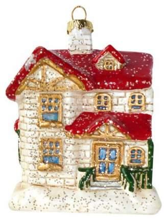 Елочная игрушка Новогодняя сказка Домик 10,5 см