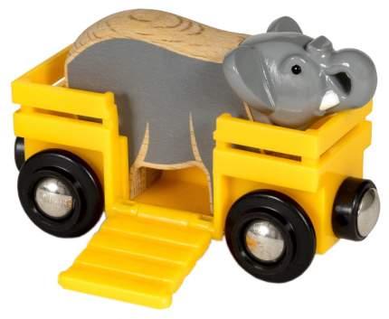 Игровой набор BRIO Вагончик со слоном