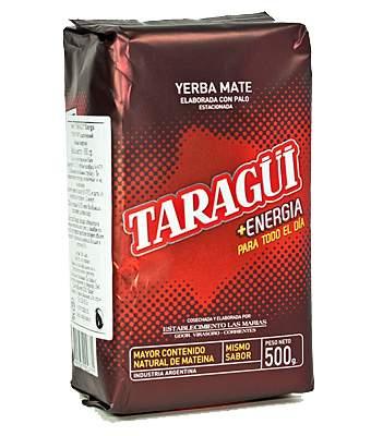 Чай мате Taragui Mass Energia