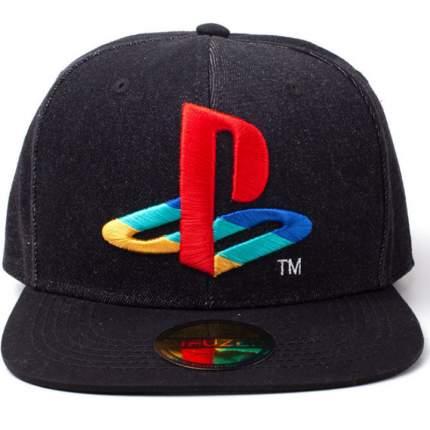 Бейсболка Difuzed Playstation Logo (Denim)