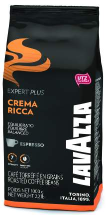 Кофе в зернах Lavazza expert crema ricca 1000 г