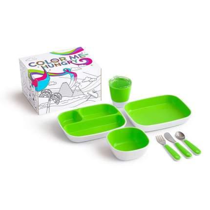 Набор посуды Munchkin 7 предметов, зеленый
