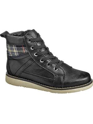 Ботинки детские Keddo, цв.черный р.35