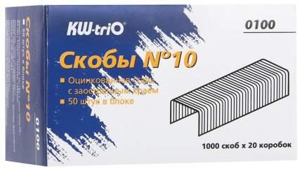 Скобы KW-TriO №10 100 20 уп по 1000 шт