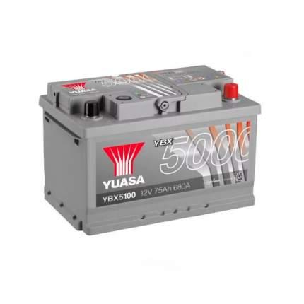 Аккумуляторная Батарея Silver High Performance[12v 75ah 680a B13/B14] YUASA