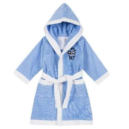 Халат Chicco для мальчиков, размер 116, цвет синий