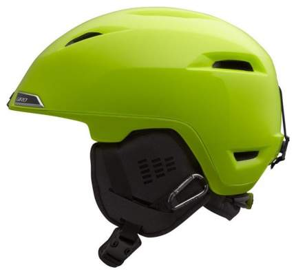 Горнолыжный шлем мужской Giro Edit 2017, светло-желтый, L