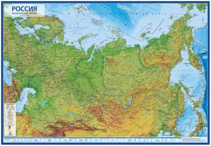 Книга Карта России физическая Globen 17,5 КН054