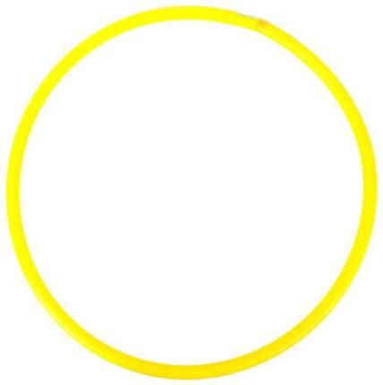 Гимнастический обруч Совтехстром У635 80 см желтый