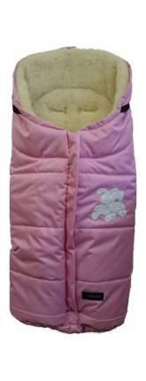 Спальный мешок в коляску Womar Wintry №12, шерсть, 3 Розовый