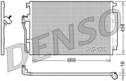 Радиатор кондиционера Denso DCN17056