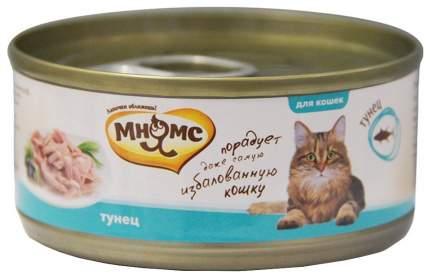 Консервы для кошек Мнямс, тунец, 24шт, 70г