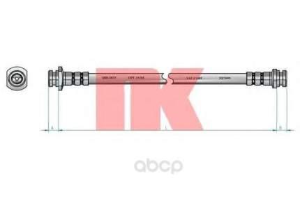 Шланг тормозной системы Nk 855018 задний правый