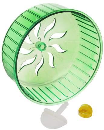 Беговое колесо для грызунов ZooMark пластик, 14 см