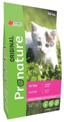 Сухой корм для котят Pronature Original Kitten, курица, 2,27кг