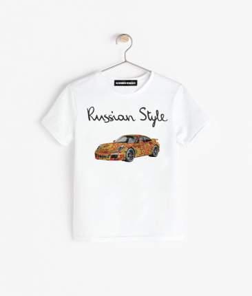 Футболка Alexander Konasov Porsche hohloma р.34