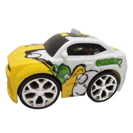 Машинка MKB интерактивная со светом и звуком белая с желтым