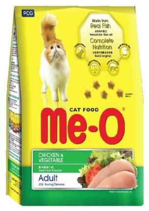 Сухой корм для кошек Me-O Adult, курица с овощами, 7кг