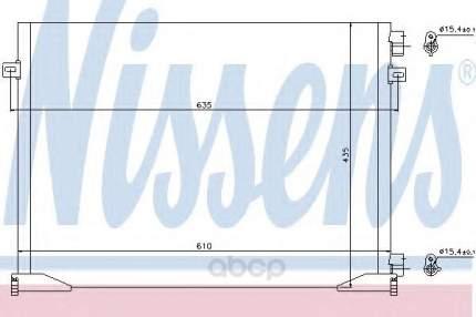 Радиатор кондиционера Nissens 940109