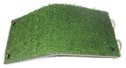 Черепаший берег ДАНКО Плотик покрытие травка Пл-23, пластик, 9х32х15 см