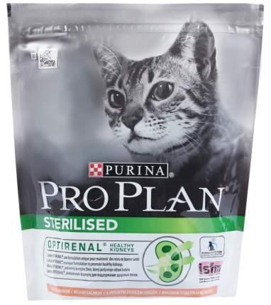 Сухой корм для кошек PRO PLAN Sterilised, для стерилизованных, лосось, 0,4кг