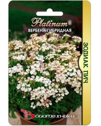 Семена Вербена гибридная Зодиак Пич, 15 шт, Platinum Биотехника