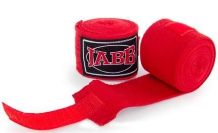 Боксерские бинты Jabb JE-3030 3,5 м красные