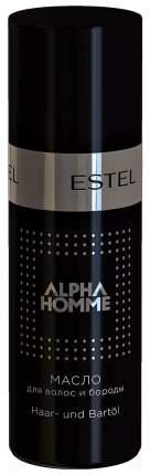 Масло для волос и бороды Estel Professional Alpha Homme 50 мл