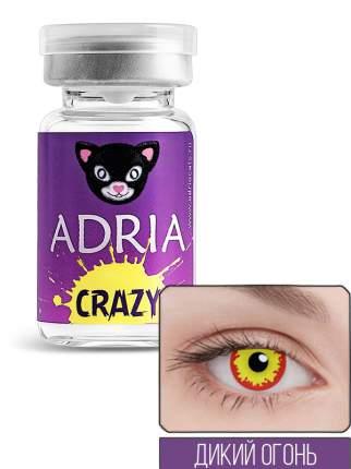 Контактные линзы ADRIA CRAZY 1 линза 0,00 wild fire