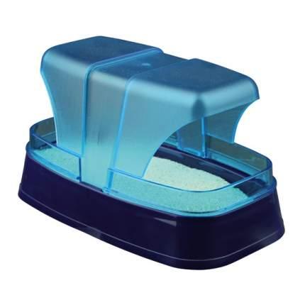 Купалка для грызунов TRIXIE пластик, 10 х 17 х 10 см, цвет синий