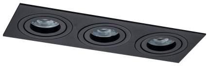 Встраиваемый светильник Maytoni Atom DL024-2-03B Черный