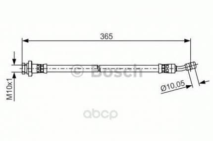 Шланг тормозной системы Bosch 1987481499